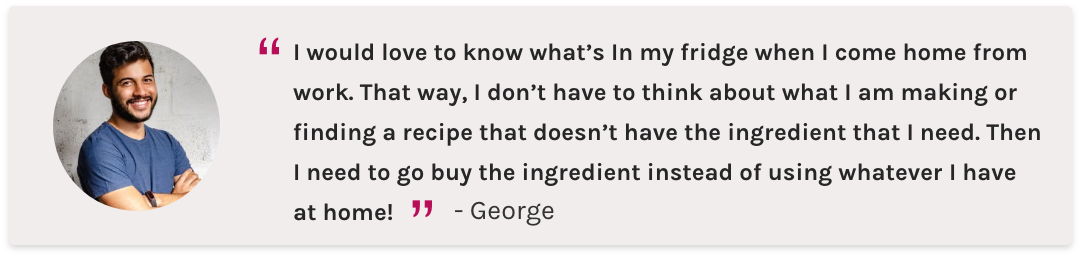 User-Interview-George